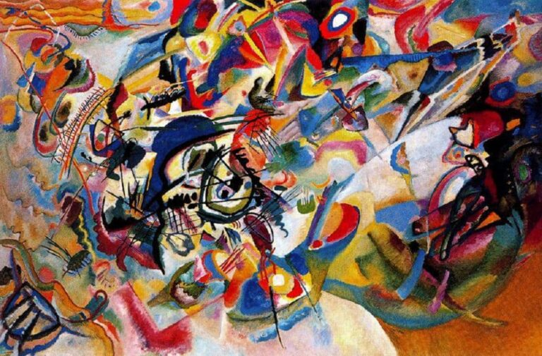 immagine per Vassily Kandinsky 1913, Composition