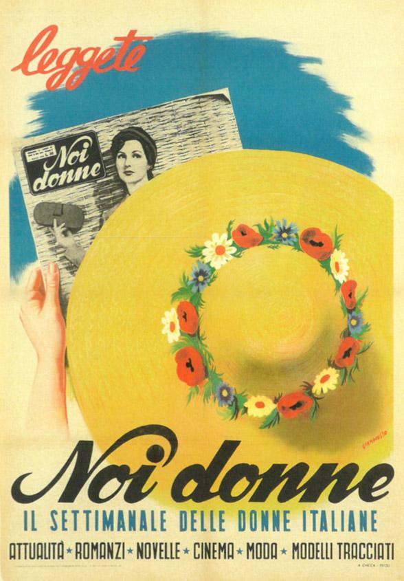 immagine per Dal rotocalco popolare color seppia al magazine Noi Donne